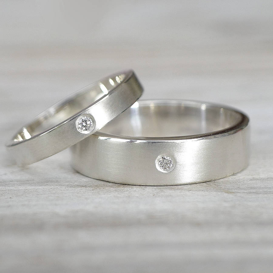 sterling rings band wedding silver eve s classic addiction