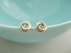 Eternity Knot Earrings - jewellery for women