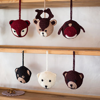 Personalised New Baby Woodland Animals