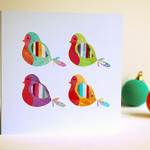 Christmas Robins Card Pack