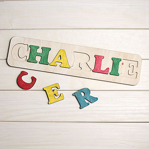 Personalised Puzzle - keepsakes