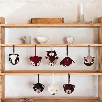 Woodland Animal Personalised Decorations