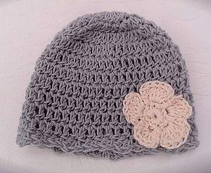 Organic Cotton Baby Beanie - children's accessories