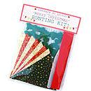 'Merry Christmas' Bunting Kit