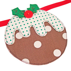 Christmas Pudding Bunting - christmas decorations