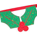 Christmas Holly Bunting