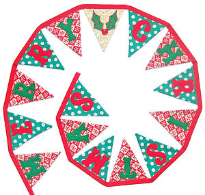 'Merry Christmas' Bunting - garlands & bunting