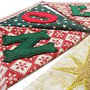 'Noel' Christmas Bunting