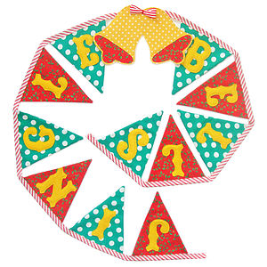'Jingle Bells' Christmas Bunting - garlands & bunting