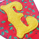 'Jingle Bells' Christmas Bunting
