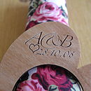 Personalised Wooden Napkin Rings
