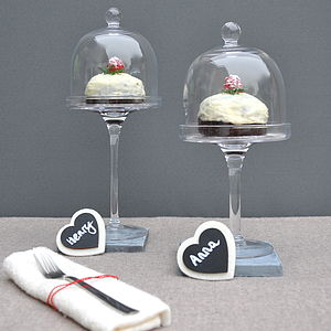 Glass Cupcake Dome - kitchen accessories