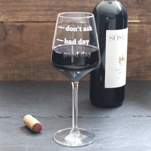 Personalised Wine Glass - corporate gifts