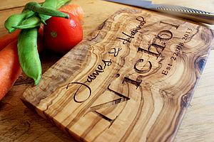 Personalised Handmade Chopping Board - kitchen accessories