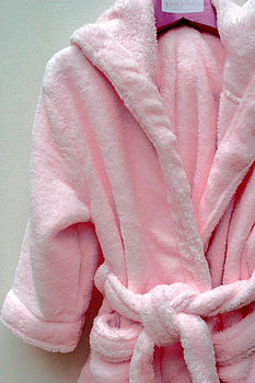Girl's Pale Pink Dressing Gown