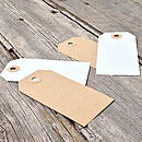 Luggage Tags without String