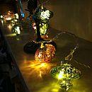 Kasbah Handmade Glass Fairy Light String