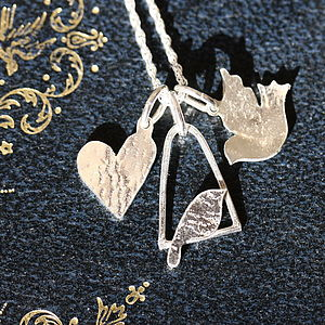 Handmade Silver Charm Necklace - charm jewellery