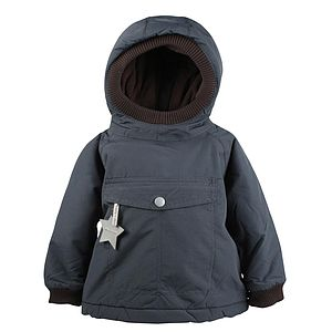 Baby Wen Ombre Blue Jacket - clothing