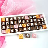 Personalised ANNIVERSARY Chocolates - food & drink