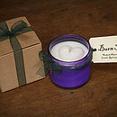 Sherbet Lemon Scented Candle Purple 250g