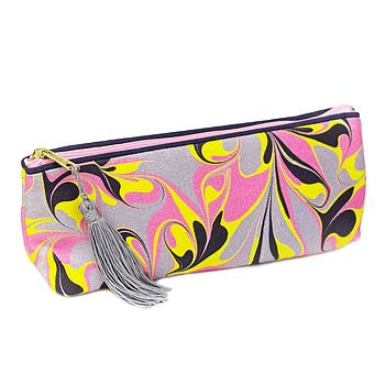 Amalfi Marbled Make Up Bag