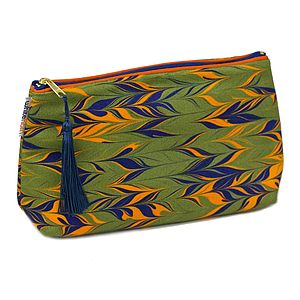 Huron Marbled Wash Bag - make-up