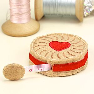 Jammy Dodger Tape Measure - secret santa gifts