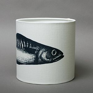 30cm Mackerel Lampshade - lamp bases & shades