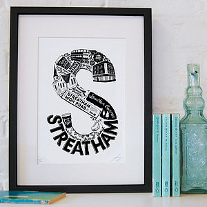 Best Of Streatham Screenprint - posters & prints