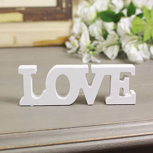 Love Letters Decoration - decorative accessories