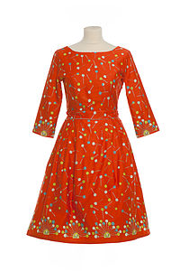 Beatrice Orange Lollipop Dress - view all sale items