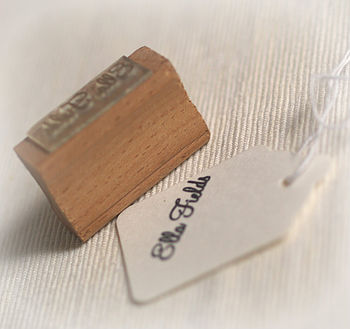 'Name' Rubber Stamp