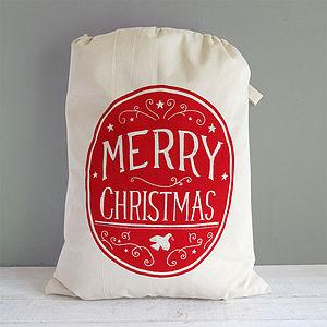 Personalised Christmas Sack - stockings & sacks
