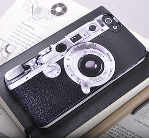 Vintage Camera Design iPhone Case - gifts for gadget-lovers