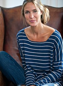 Slouchy Cashmere Boatneck