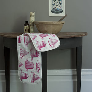 Jelly Print Oven Gloves
