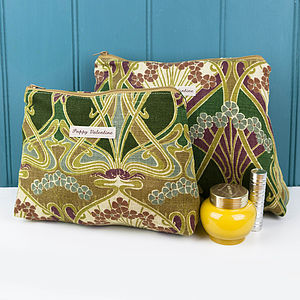 Washbag And Cosmetic Bag Set Liberty Olive - mother's day gifts