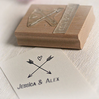 Arrow And Heart Stamp