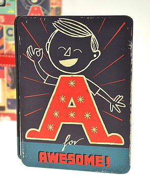 An 'Awesome' Note Book