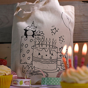 Colour In Party Activity Bag With Gifts - wedding day activities