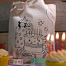 Birthday bag design