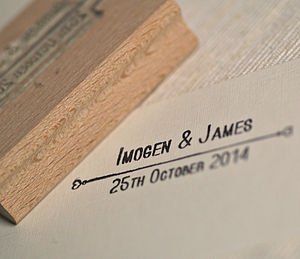 Wedding Favour Stamp - stationery