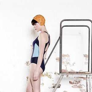 Croyde Performance Racer Back Swimsuit - women's swim & beachwear
