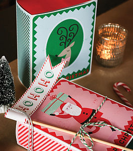 Large Christmas Match Boxes