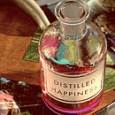 Personalised Etched Apothecary Bottle