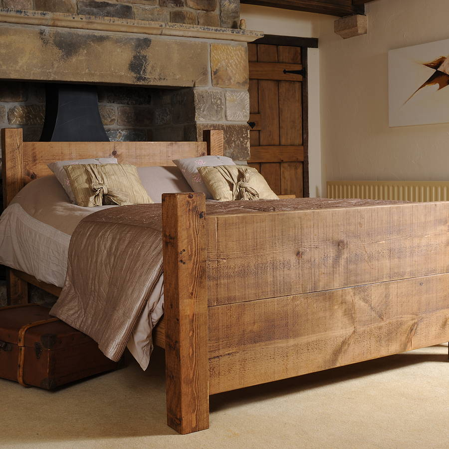 Solid Wood Bed By H U0026f
