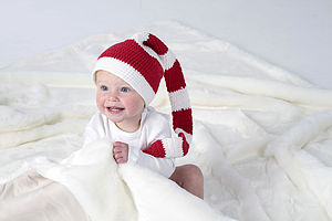 Handmade Christmas Elf Hat - for babies