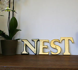 Genuine Vintage 'Nest' Sign