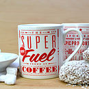 'Super Fuel' Retro Mug